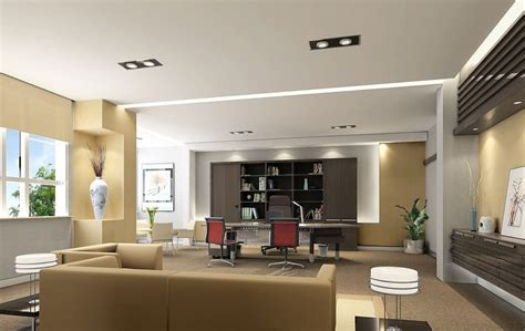 Director Of Design by Interior Designers Office Modern House
