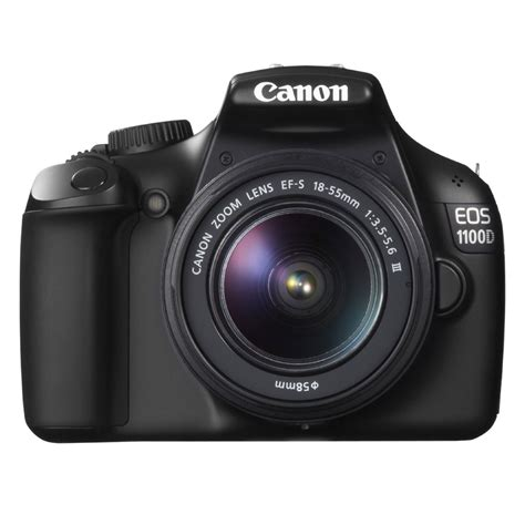 Canon Eos 1100d Ef S 18 55 Iii Kit canon eos 1100d objectif ef s 18 55 mm f 3 5 5 6 iii dc appareil photo reflex canon sur ldlc