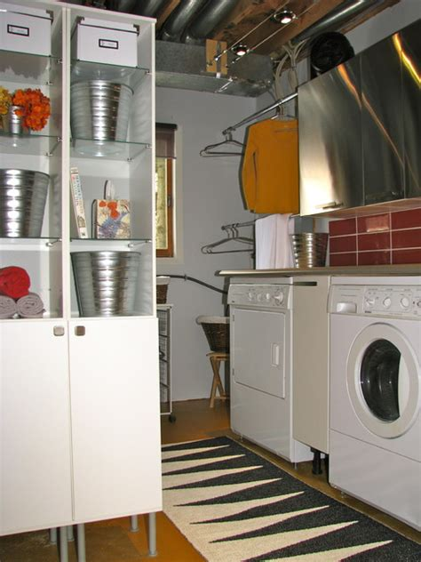 industrial laundry room industrial laundry room eclectic laundry room ottawa by otta decorate