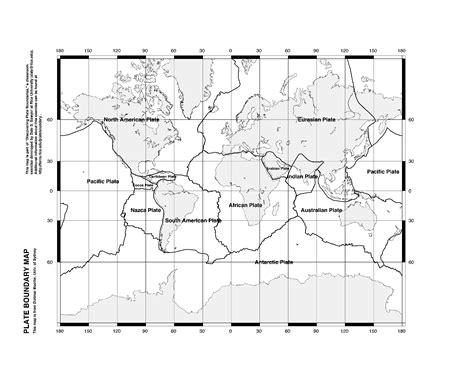 Plate Boundaries Worksheet by Tectonic Plates Worksheet Worksheets Releaseboard Free