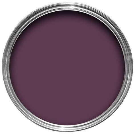 chalk burst dulux paint dulux mulberry burst matt emulsion paint 2 5l diy and