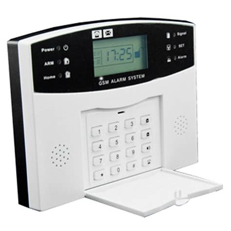 Best Deal Alarm Lcd Wireles Wired Berbasis Gsm Untuk Keamanan Rumah ag security gsm wireless security alarm system white