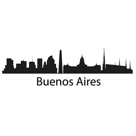 Wall Stickers And Murals buenos aires skyline decal