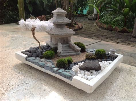 small zen garden the temple diy mini zen garden pinterest