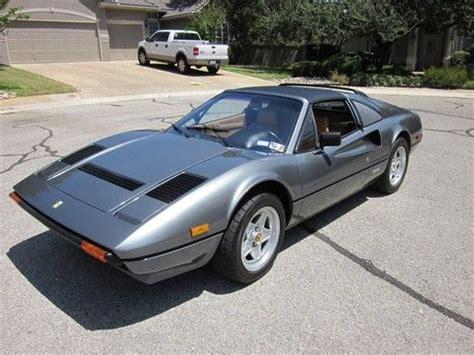 Ferrari 308 Wheels For Sale by Sell Used 1985 Ferrari 308 Gts Quattrovalvole Grigio Tan