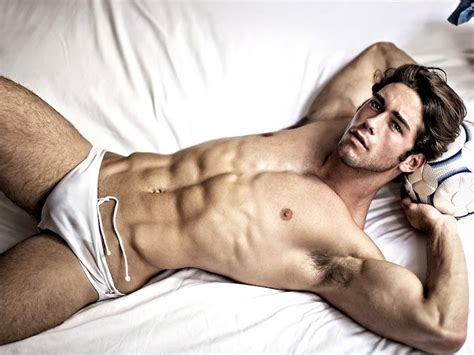 guy in bed fashion fitness recognize the fitness model in you