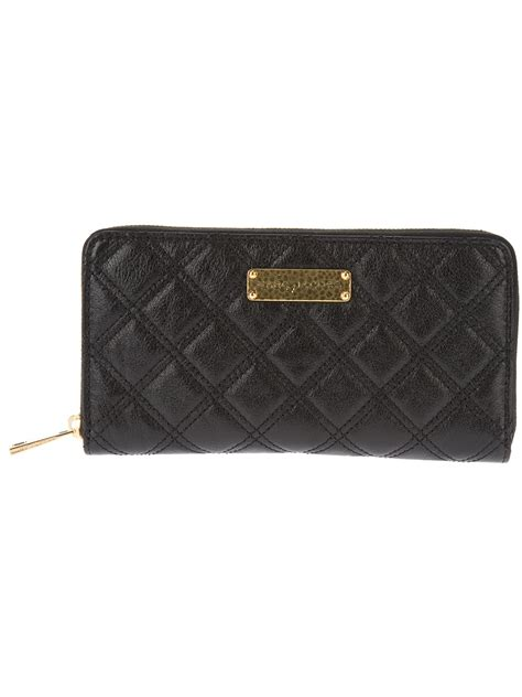 Marc Quilted Wallet marc the quilted wallet in black lyst
