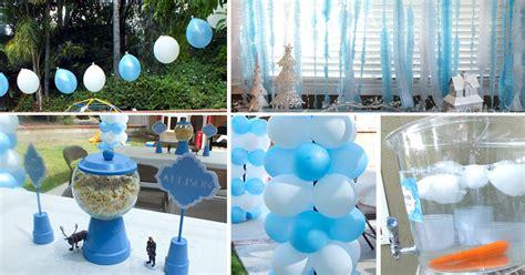 decoration ideas disney frozen party decoration ideas two sisters