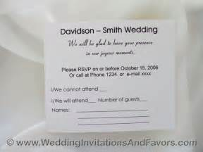 rsvp cards wedding rsvp wording