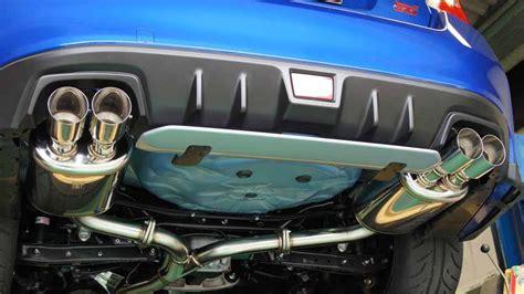 subaru hks exhaust 2016 wrx sti hks legamaz cat back exhaust installed vfr