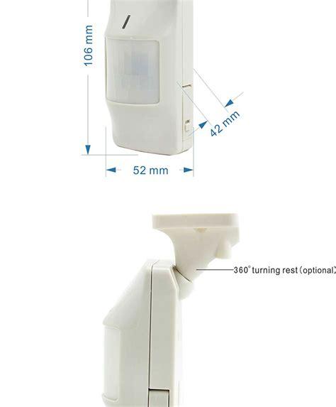 bathroom alarm home bedroom office bathroom smoke detector alarm pir