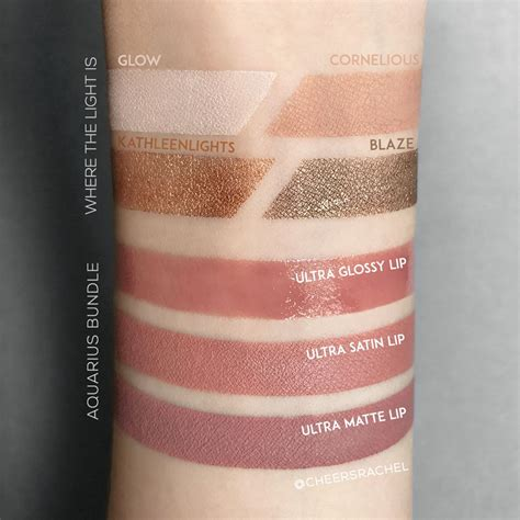 kathleenlights where the light is colourpop x kathleenlights collaboration swatches by