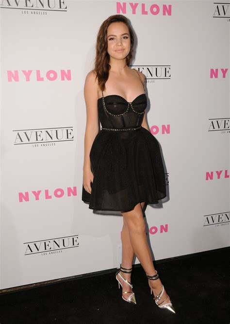 bailee madison young bailee madison nylon young hollywood party in los