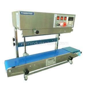 Alat Pres Plastik Makanan Ringan alat press plastik aluminium foil gelas plastik dan