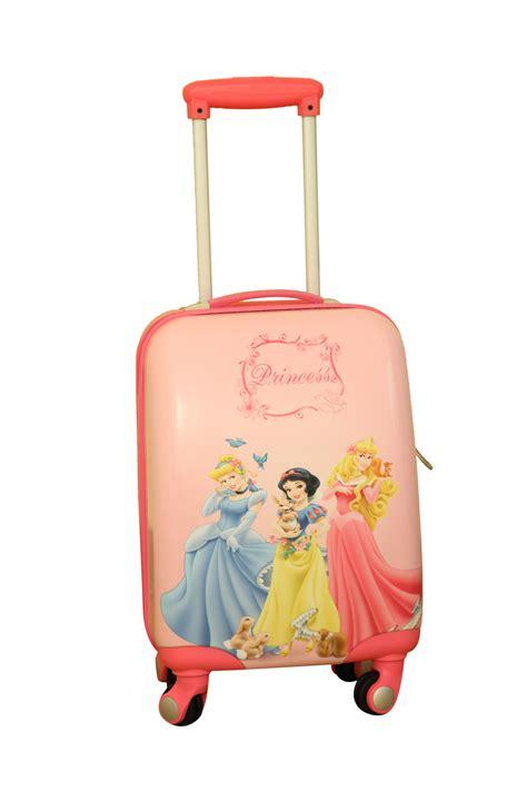 buy disney princess cinderella kids luggage trolley bag