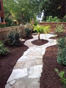 Types Of Stone For Patios Paver Garden On Side Of Home Butler Landscape Design