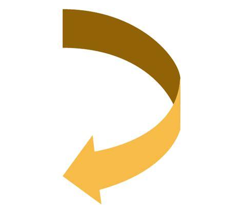 curved arrow visio sales arrows vector stencils library basic flowchart