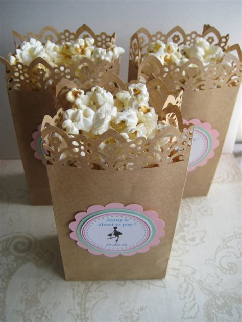 Popcorn Baby Shower Favors by Popcorn Baby Shower Favors Invitations Ideas