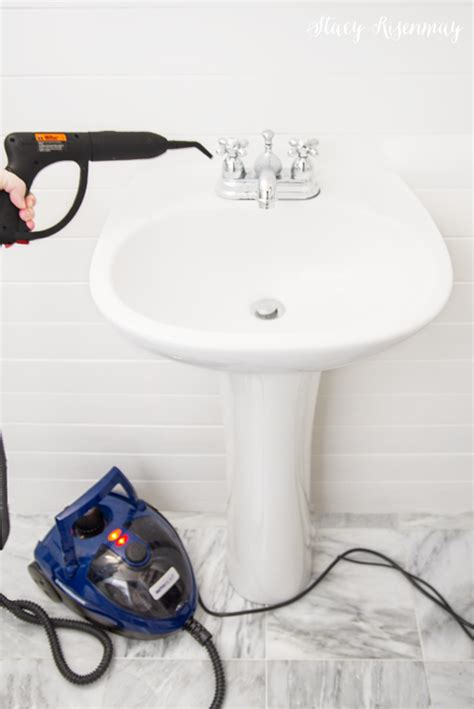 steamer for cleaning bathroom steam clean your bathroom giveaway not just a housewife