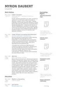 Career Counselor Resume Sample Career Counselor Resume Samples Visualcv Resume Samples