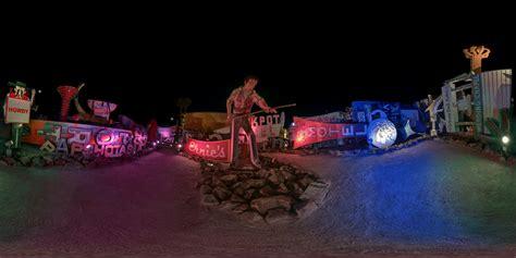 las vegas light museum las vegas neon museum 360 night panorama joe reifer