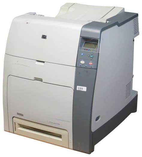hp color laserjet 4700n hp color laserjet 4700n 30 ppm 288mb lan 63 900 seiten