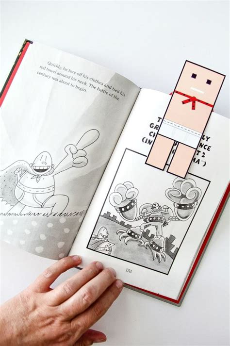 printable captain underpants bookmarks 17 best images about marcadores on pinterest childhood