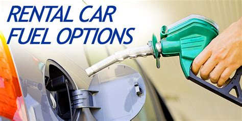 Rent A Option May Be For Travelers by Rental Car Fuel Options Dollar Options