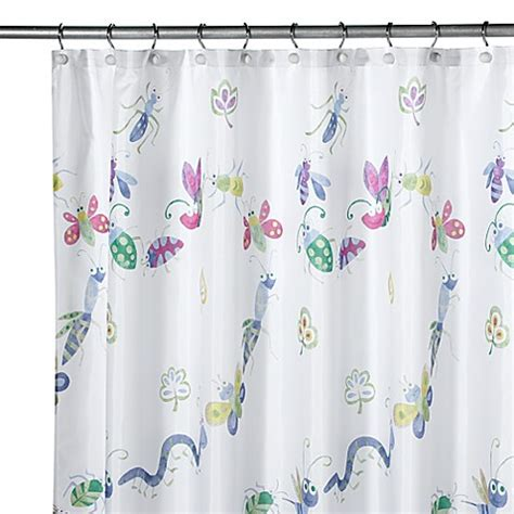 leaves shower curtain bugs leaves shower curtain bed bath beyond