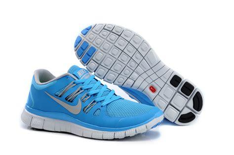 nike free run 5 0 womens light blue nike free 5 0 womens blue light gray running shoes