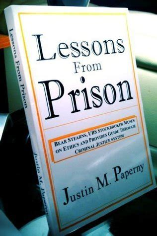 lessons learned from playground to penitentiary books lessons from prison by justin m paperny reviews