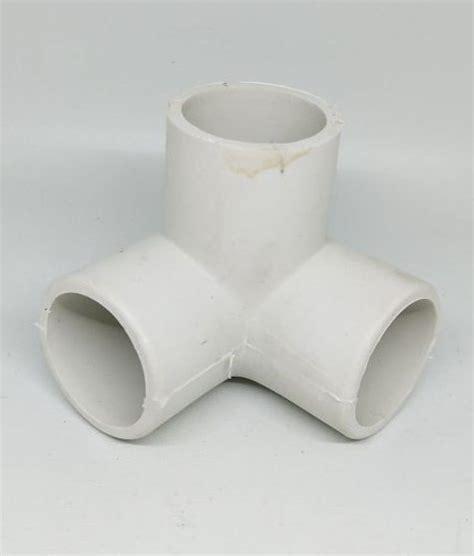 Socket Sock Sok Lurus Sambungan Pipa 1 12 konektor 3 arah pipa 1 quot inch inci putih bibitbunga