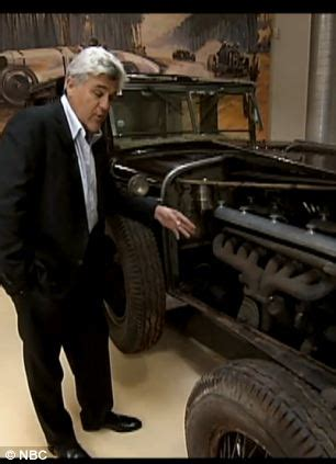 jay leno settles vintage car legal dispute over 1931 while president bush was out of town hil by jay leno