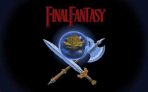 anime final fantasy 1 final fantasy nes desktop wallpapers