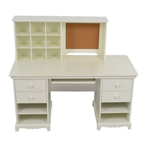 55 pottery barn pottery barn white desk with cubby