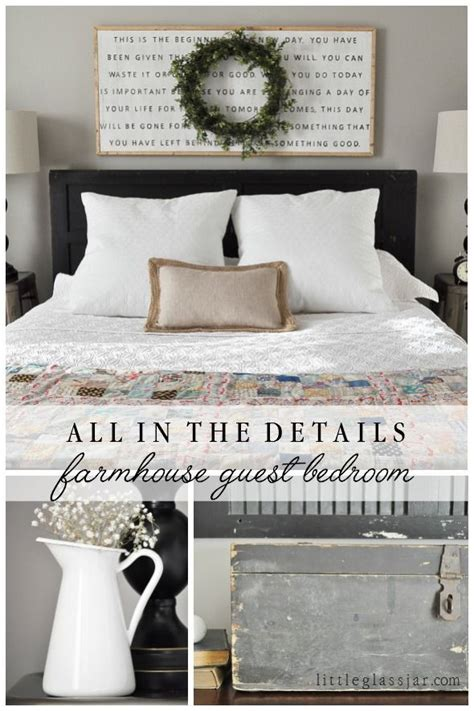 Guest Bedroom Wall Decor Ideas 17 Best Images About Farmhouse Guest Room Ideas On