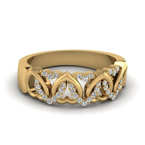 Wedding Bands Yellow Gold With Diamonds by 14 Appealing Bands That Won Millions Of Hearts