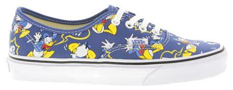 donald duck shoes vans disney authentic sneakers in donald duck print