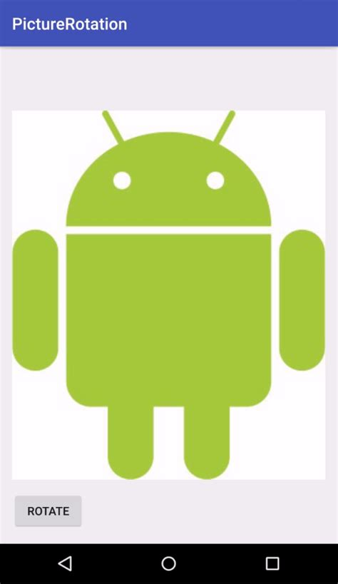 android animate layout height change android imageview rotation animation keep scale type