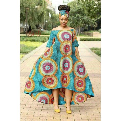 Simple Ankara Straight Gown Styles
