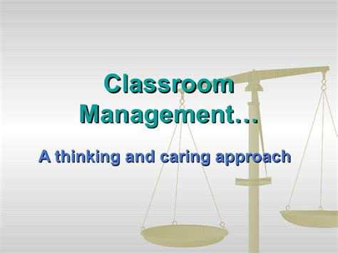 Classroom Management For Mba by Classroom Management
