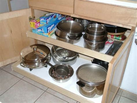 slide out organizers kitchen cabinets slide out organizers kitchen cabinets rev a shelf 14 75 in