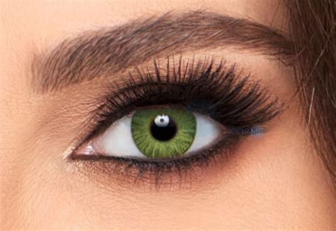 green colored contact lenses freshlook colorblends gemstone green colored contacts