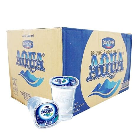 Gelas Cup jual aqua air mineral cup gelas air minum kemasan toko s