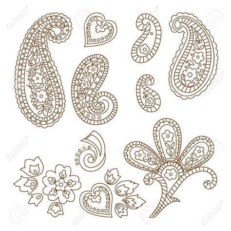 paisley pattern tattoo designs 50 paisley pattern tattoos designs