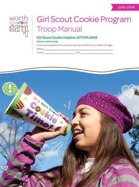 Scout Cookie Cupboard 2016 Troop Cookie Manual By Scouts Of Central Indiana