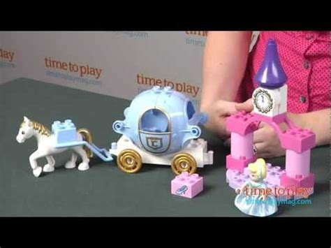 lego duplo disney princess cinderellas carriage  lego
