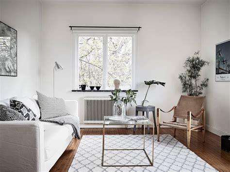 modern interieur met houten vloer scandinavisch appartement met stijlvolle houten vloer in