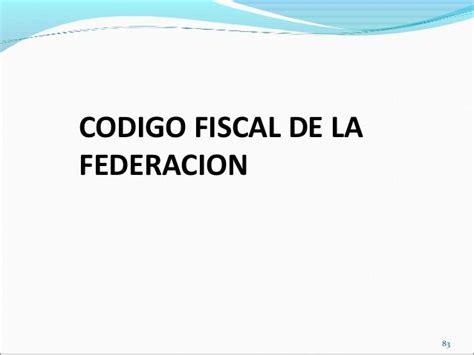 codigo fiscal derecho fiscal