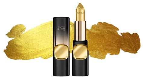 Lipstik Golden 5 ways to work gold lipstick into your kit